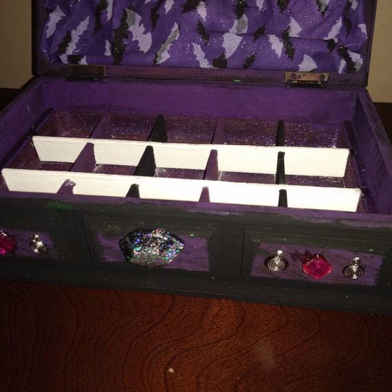 Beetlejuice Inspired Mini Jewelry Box