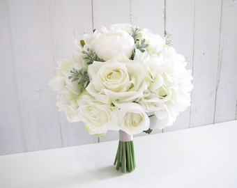 Rustic Wedding Bouquet Etsy