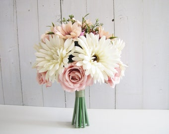 Rustic wedding bouquet | Etsy