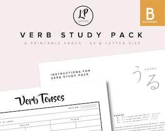 Verb Study Pack