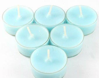 Sweet Pea Handmade Premium Quality Highly Scented 6 Tea Light Candles