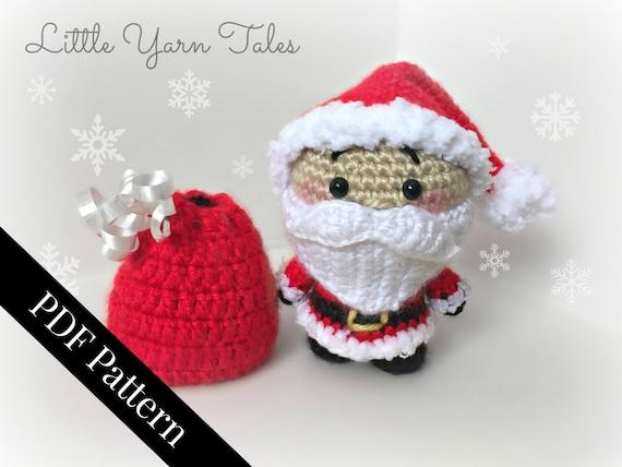 PATTERN Cuddle-Sized Santa Claus & Mrs. Claus Amigurumi ... | 427x570