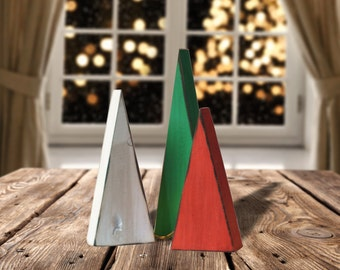 Christmas Tree Mantle Decoration - Rustic Christmas Decorations - Christmas Party Decorations - Christmas Table Decoration - Gift Hostess