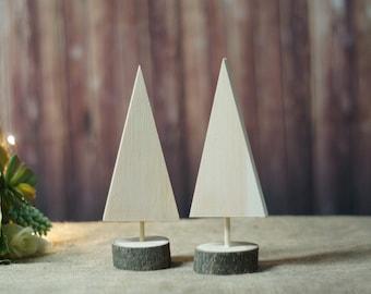 DIY Unfinished Christmas Tree Set