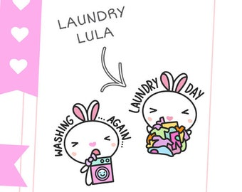 Laundry Lula / Planner Stickers