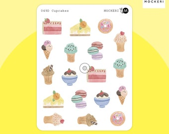 Cakes and Sweets Stickers / Planner Stickers