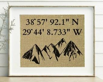Mountain Decor Etsy