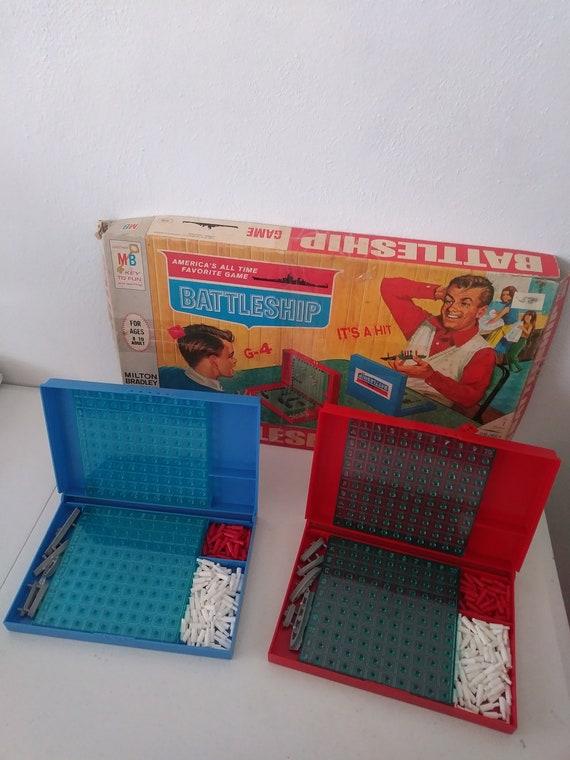 Vintage 1967 Milton Bradley Battleship Game Complete Etsy