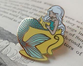 Mermaid Tea Hard Enamel Pin