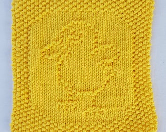 Hand Knitted Cotton Cloth, Hand Knitted Cotton Washcloth, Hand Knitted Cotton Dishcloth,