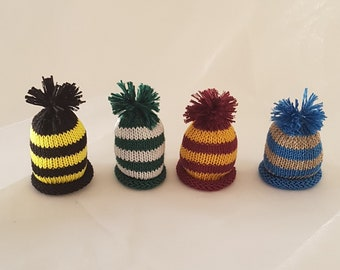 8166b6c461fe0 Hand made knitted egg cosy harry potter house colors   knit egg  cosey breakfat egg cosy giffindor hufflepuf f ravenclaw  slytherine