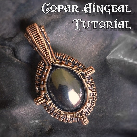 Tutorial Portal Pendant Wire Wrapping Jewelry Pattern Oval Cabochon Wire Wrapped Gemstone Lesson Wire Wrap Stone