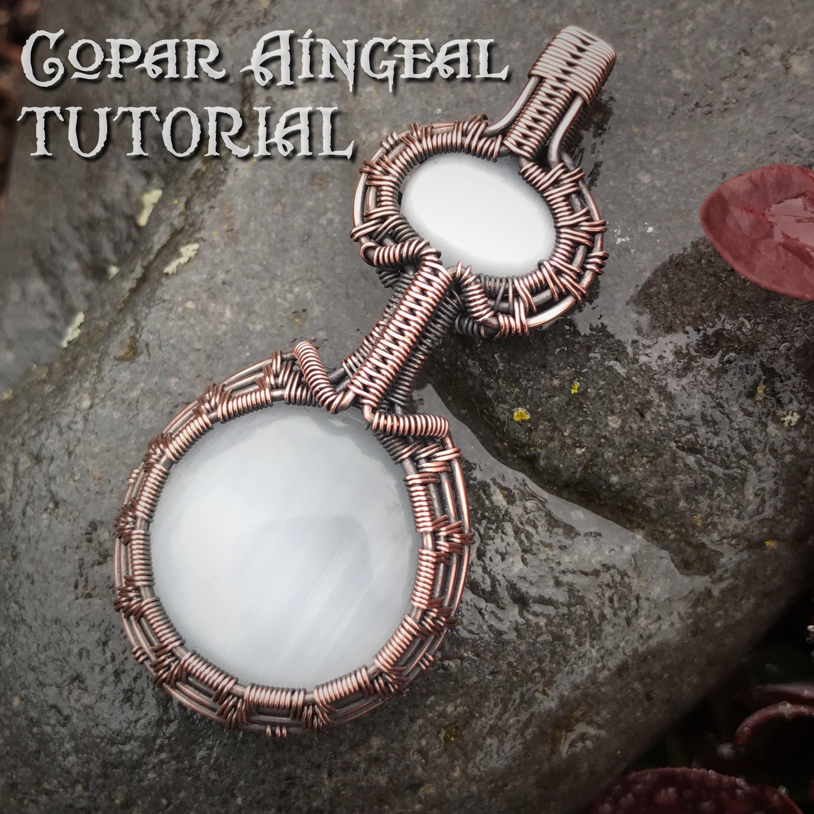 TUTORIAL - Pendulum Pendant - Wire Wrapped - Jewelry Pattern Circle ...