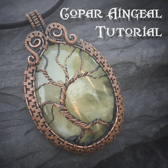 Tutorial Yggdrasil Pendant Wire Wrapping Jewelry Pattern Etsy