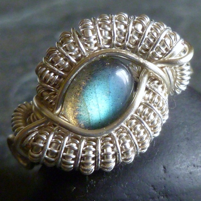 TUTORIAL Dragon Eye Ring Wire Wrapped Class Jewelry   Etsy