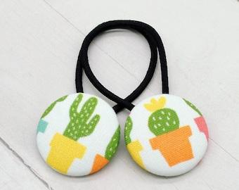 Cactus Hair Tie, Cactus Favor, Desert Accessories, Succulent Elastic Hair Tie, Fiesta Party