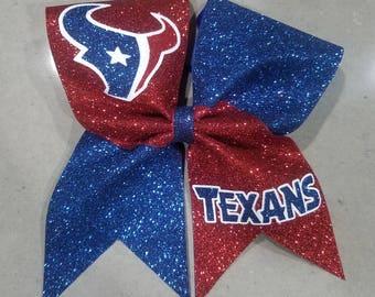 Houston Texans Cheer Bow