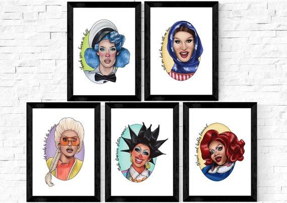 Drag queen pillow | Etsy