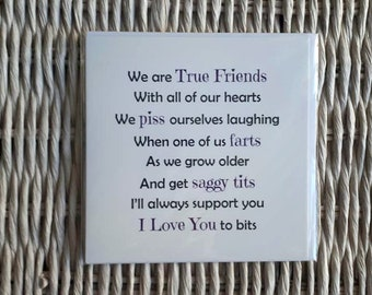 Friend Card Best Birthday True Friends Funny For Cards Rude