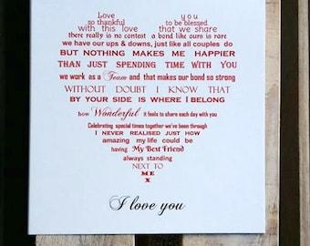 Wife card, Husband card, Girlfriend card, Boyfriend card, birthday card, anniversary card, fiance valentine card