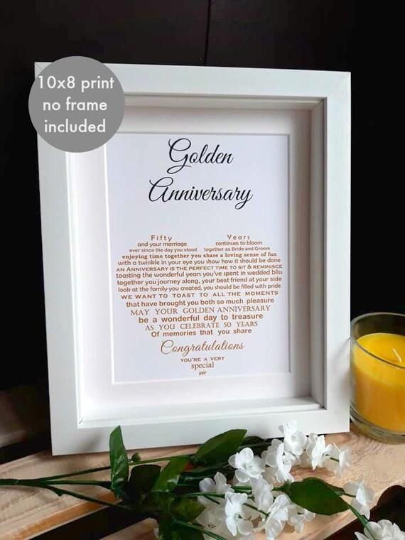 Nan Und Opa Goldene Hochzeit Ungerahmt Goldenen Jahrestag Druck Nan Und Opa Golden Hochzeitstag Großeltern Jahrestag