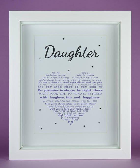 Daughter Gift Birthday Mother