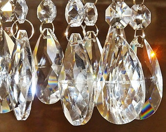 Crystal Chandelier Parts & Prisms | Antique Lamp Supply