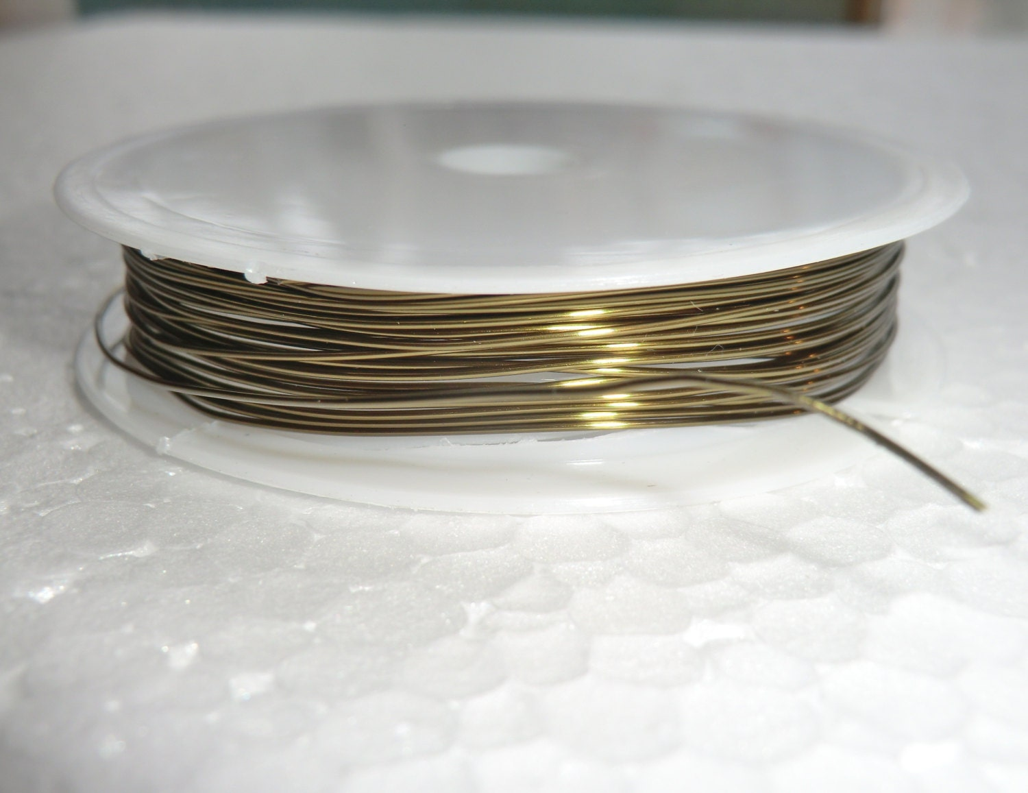 6m / 19ft Metal Chandelier Reel Wire to Make Chains of Crystals ...