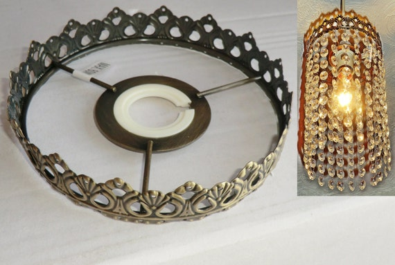 One Tier Chandelier Metal Frame No Drops Make Your Own Chandelier ...