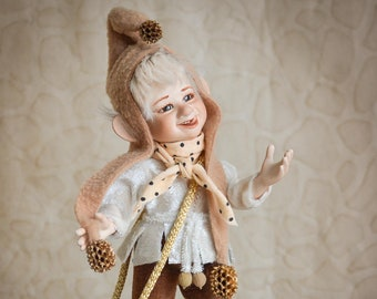 Porcelain dolls art doll Mother's Day Gift new home gift porcelain doll art dolls handmade doll elf figurine LIMITED EDITION
