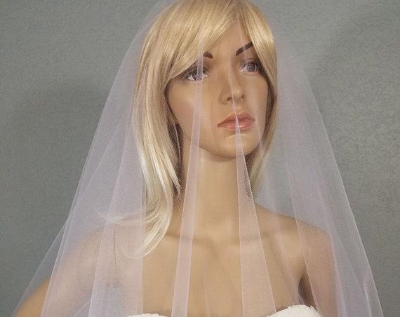 Wedding Veil, Bridal Vail, Cathedral Vale, Lavender Veil, Drop Veil, Long Veil, Short Veil, White Veil, Pink Veil, Blue Veil, Green Veil