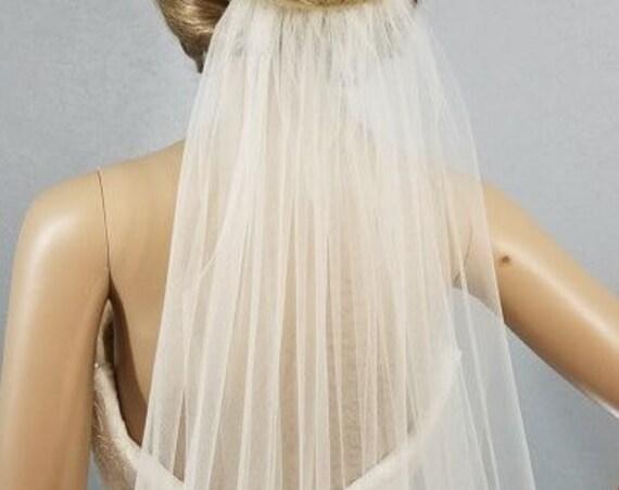 Wedding Veil, Bridal Veil, Cathedral Veil, White Veil, Colored Vale, Bride, Accessory, Long Veil, Vail, Ivory Veil, Pink Veil, Black Veil