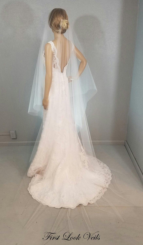 Cathedral Veil, Drop Vail, Wedding Vale, Bridal Veils