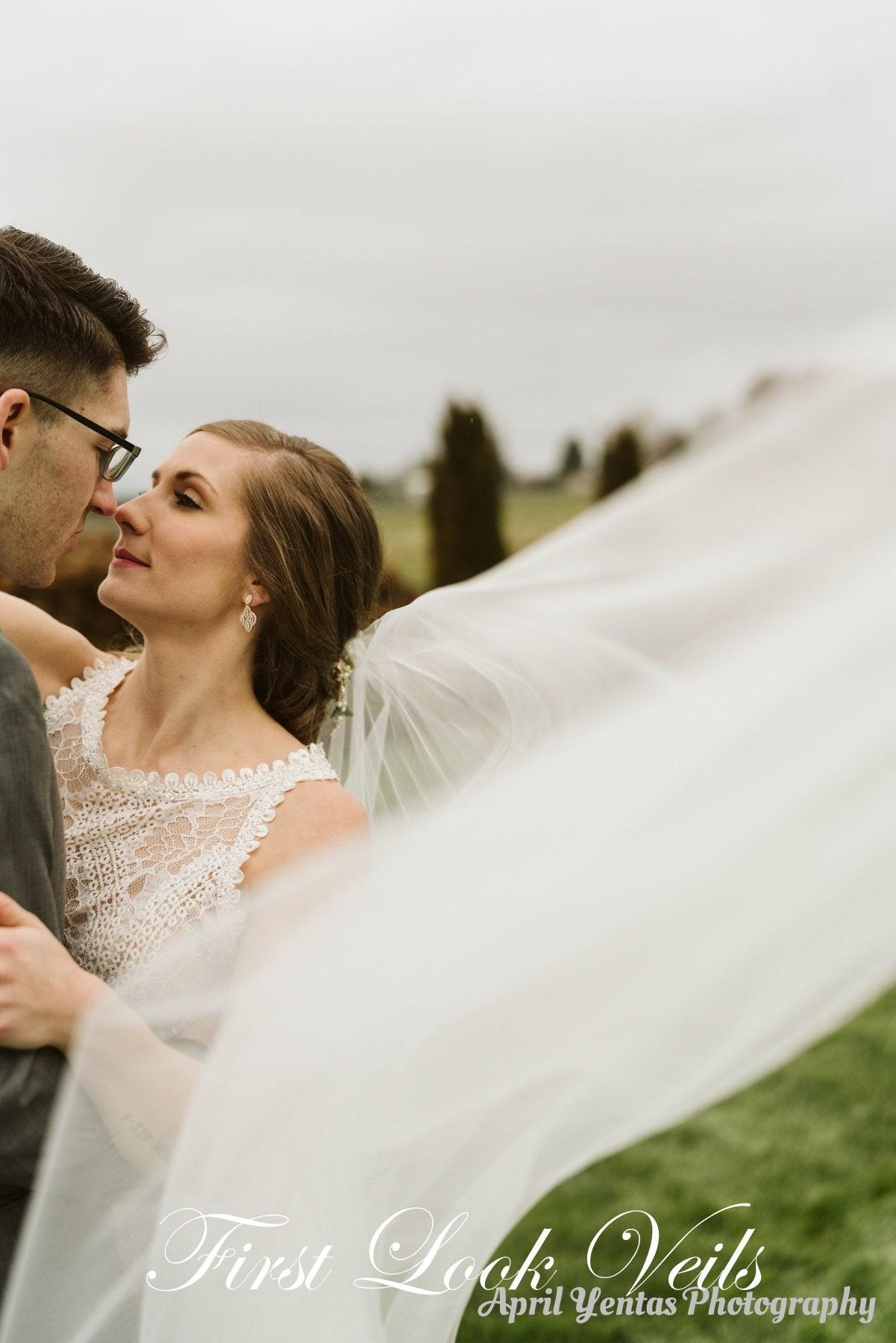 Wedding Veil Bridal Vail Ballet Vale 30 Inch Drop Veil