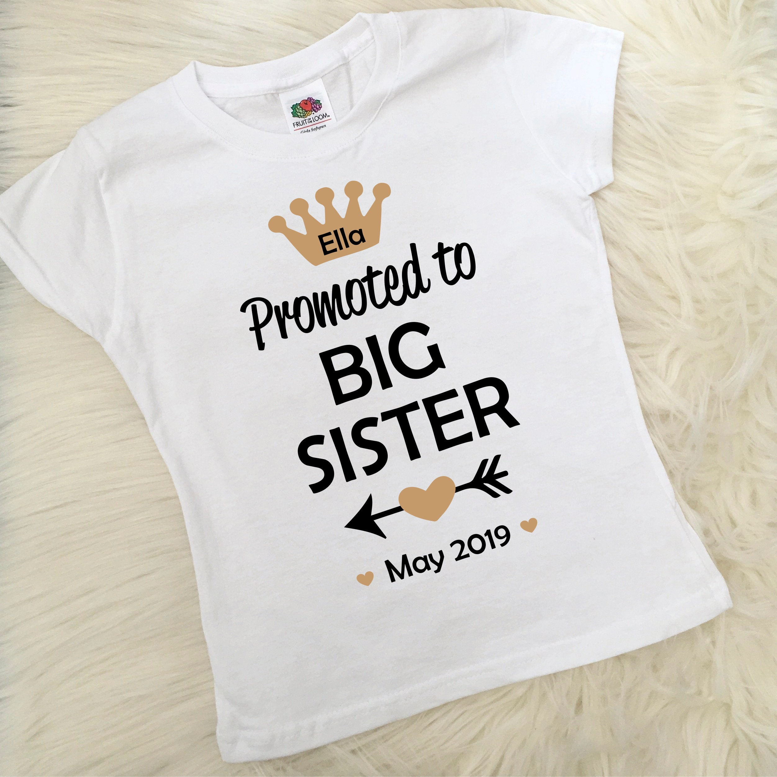 b60d713a Personalised Big Sister T Shirts Uk - DREAMWORKS