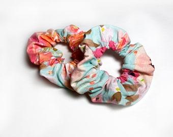 Scrunchie |  Spring and Summer Bloom Floral Hair Scrunchie