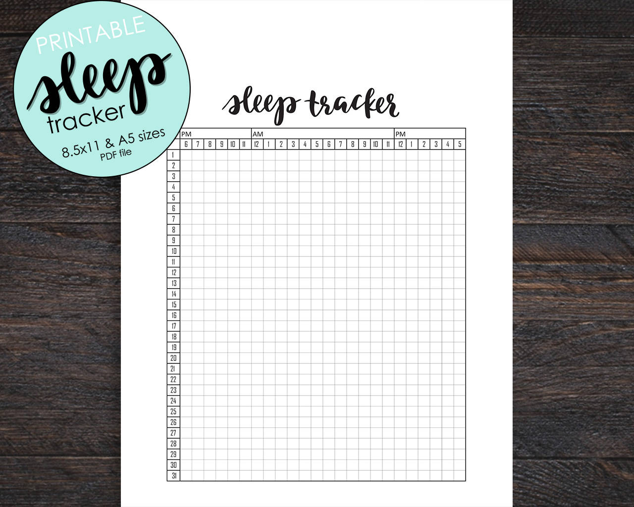 It is a graphic of Ridiculous Sleep Tracker Printable