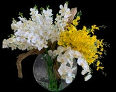 Pillow Vase Driftwood Orchid