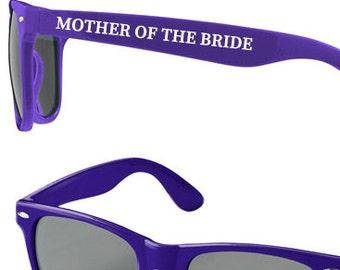 Personalised Wedding Sunglasses Favours