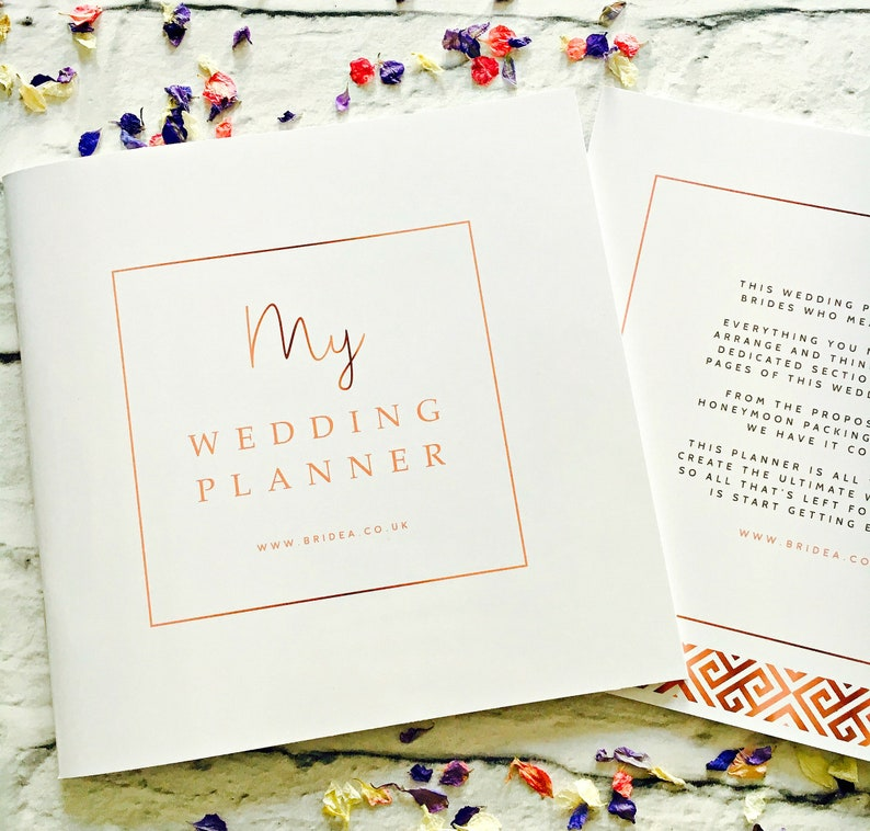The Ultimate Wedding Planner For Brides  50 Page Wedding image 0