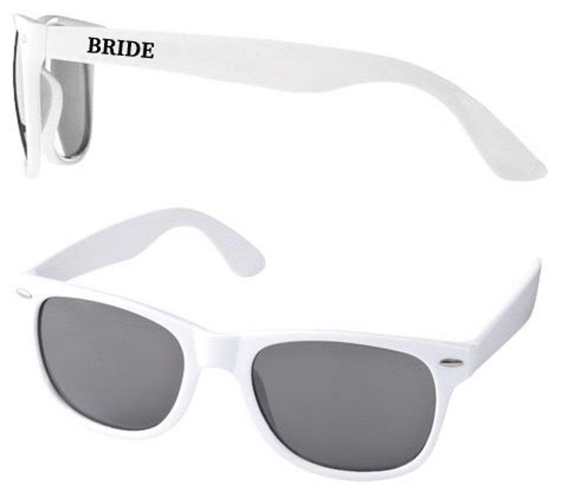 Personalised Wedding Sunglasses Favours image 0
