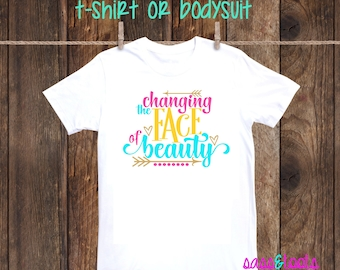55e0b57a Changing the face of beauty Down Syndrome Awareness down right perfect one  piece bodysuit body suit shirt tshirt down syndrome walk downs