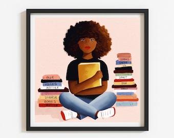 Diverse Books Matter Print (Unframed)