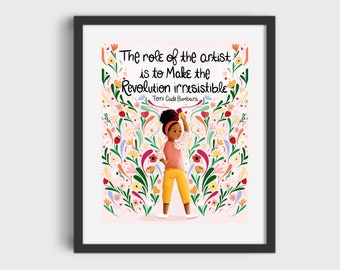 Role of the Artist Print/Poster (Unframed)