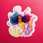 Mother Daughter Mermaid Vinyl Sticker