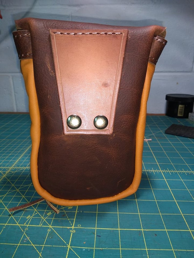 E-cig Key Wallet SmartPhone Holder Case Beautiful Handmade Leather belt Pouch Bag