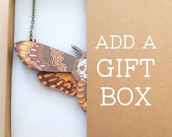 Add A Gift Box To Any Necklace Or Earrings