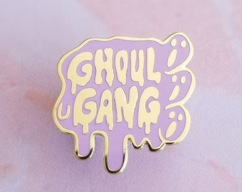 Ghoul Gang Hard Enamel Pin Badge