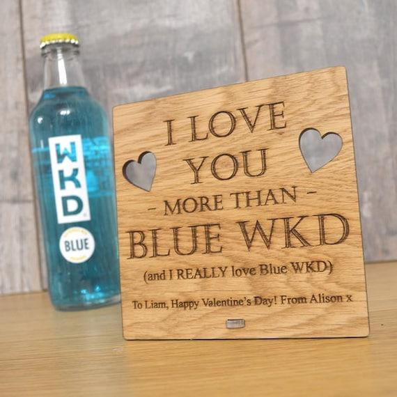 WKD Blue Fridge Magnet