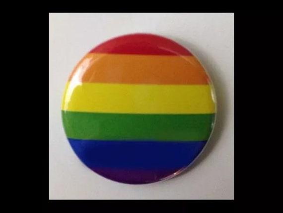 Gay Pride Awareness Ribbon Pin On Badge LGBT Pride Parade